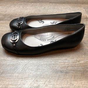 Life Stride Shoes - LifeStride 10W Soft System Black Flats